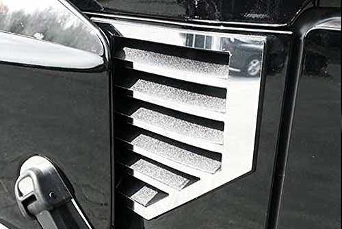 Kasei H2-FSV-02 Fits Hummer H2 Chrome Front Side Vent Covers