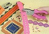 Fiskars 23607097J Heart Hand Punch, 1/4 Inch, Pink
