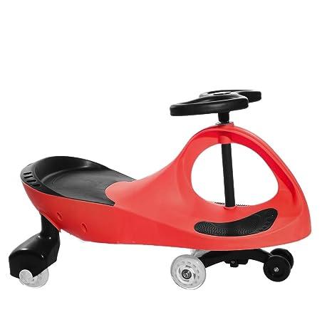 Seababyhouse Niña juguete Niños Swing meneo coche paseo en coches giratorio Slider scooter niños pequeños juguetes