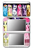 My Little Pony Friendship is Magic MLP Friends Twilight Sparkle Rarity Rainbow Dash Fluttershy Pinkie Pie Apple Jack Game Vinyl Decal Skin Sticker Cover for Original Nintendo 3DS XL System