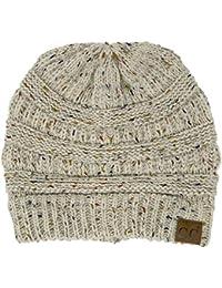 CC Confetti Knit Beanie - Thick Soft Warm Winter Hat -...