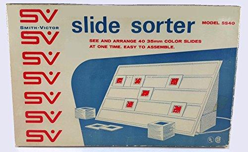 Vintage Smith-Victor Slide Sorter Model SS40 - Holds 40 (Slide Sorter)