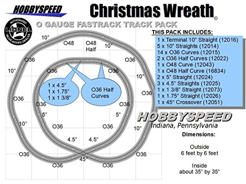 Fastrack CHRISTMAS TREE WREATH LAYOUT 6'x6'