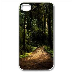 Serra De Sintra, Portugal Watercolor style Cover iPhone 4 and 4S Case (Forests Watercolor style Cover iPhone 4 and 4S Case)