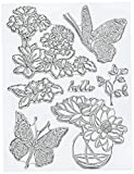 """Penny Black 30-346 N/A clear Stamps 5""""X7""""-Perfect Pairing"""