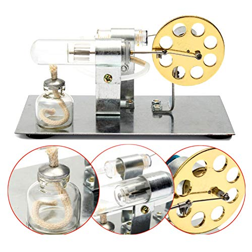 Quietcloud Home Supplies-Repair Tool, Hot Air Stirling Engine Model Electric Generator Motor Steam Power Physics Toy