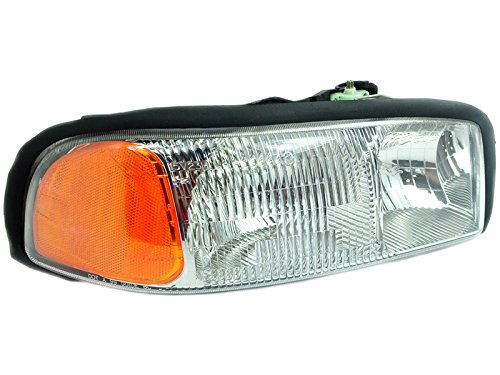 OE Replacement GMC Jimmy/Yukon/Sierra Passenger Side Headlight Assembly Composite (Partslink Number GM2503188) ()