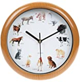 Farm Yard Animal Clock with Sounds Including Pig, Cow, Dog, Horse and Many More by Tik Tock