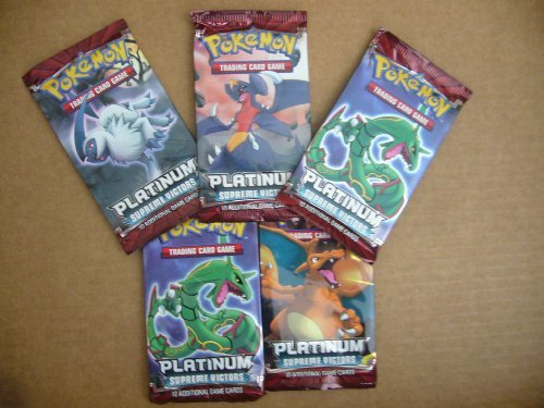 Pokemon Cards - PL SUPREME VICTORS - Booster Packs (5 pack lot) by Pokémon