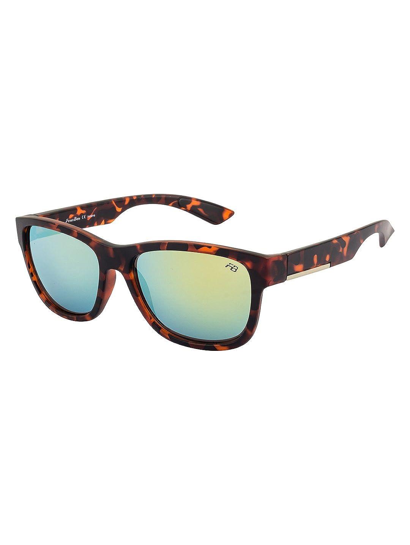 8a0096b9f41f Funky Boys UV Protected Wayfarer Boy's Sunglasses -  (SOC-FB-4412-C3|55|Green Color Lens): Amazon.in: Clothing & Accessories