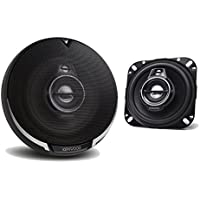 2) New Kenwood KFC-1095PS 4 220 Watt 3-Way Car Audio Coaxial Speakers Stereo