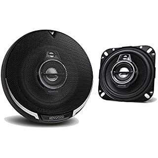 Sale Off Kenwood 2 New KFC-1095PS 4' 220 Watt 3-Way Car Audio Coaxial Speakers Stereo