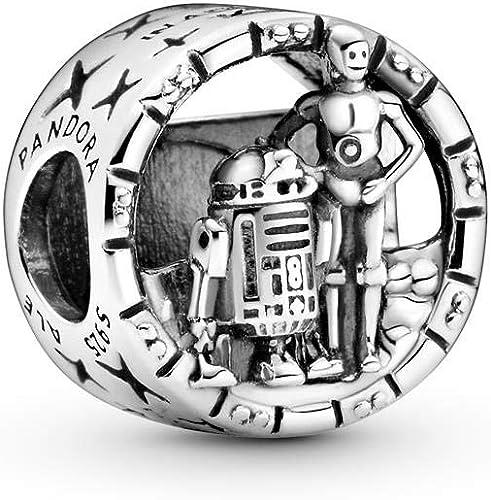 PANDORA Star Wars, C-3PO and R2-D2 Charm