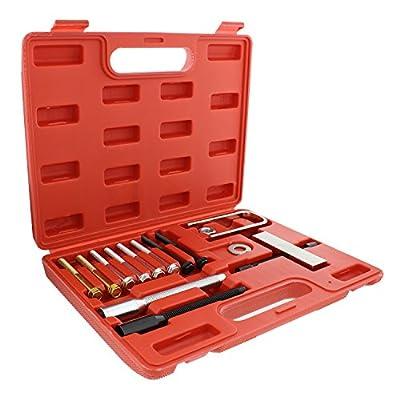ABN Automotive Car Steering Wheel Puller Compressor Remover Set – Vehicle Steering Wheel Lock Plate Removal Tool Kit
