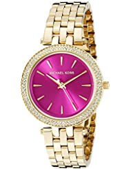 Michael Kors Womens Mini Darci Gold-Tone Watch MK3444