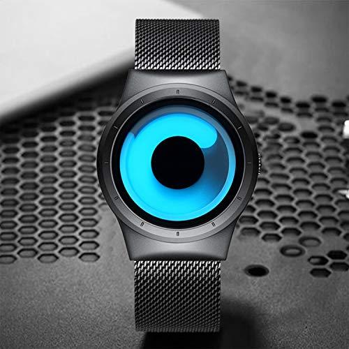 24be56757b8 KDM Mens Black Watches Men Waterproof Unique Design Cool Wrist - Import It  All