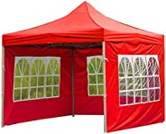 Nicoone Tent Cloth Outdoor Waterproof Folding Tent Cloth Gazebo Side Panel for Patio Picnic Park Most Gazebo T