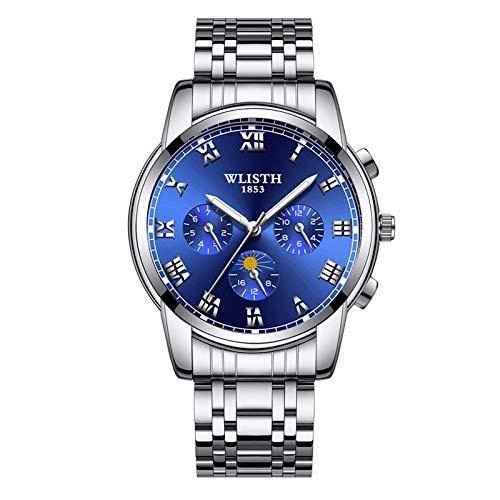 - Waterproof Watch, Casual Compass Digital Outdoor Sports Watch for Men, Fashion Stopwatch Countdown Military