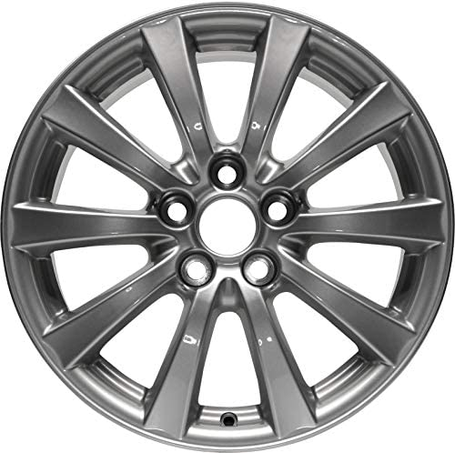 Partsynergy Replacement For New Replica Aluminum Alloy Wheel Rim 17 Inch Fits 0608 Lexus IS250 51143mm 10 Spokes