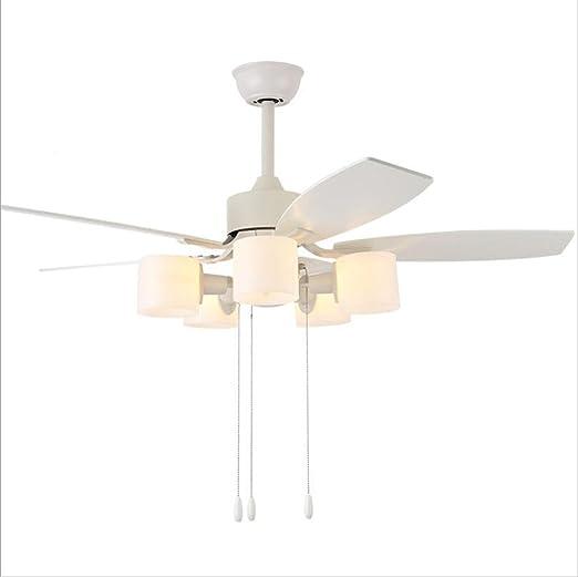 Araña silenciosa Ventiladores de techo con lámpara de techo ...