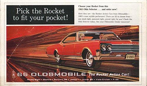 1965 Oldsmobile full-line sales brochure 98 Starfire (Oldsmobile Full Line Sales Brochure)