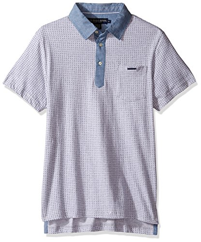 U.S. Polo Assn. Mens Color Blocked Short Sleeve Classic Fit Shirt