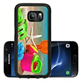 Liili Premium Samsung Galaxy S7 Aluminum Backplate Bumper Snap Case toys for childrens sandboxes against the sea and the beach 28412835