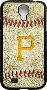 Onelee?? - MLB Team Logo, Pittsburgh Pirates Logo Samsung GALAXY S4 Cases (Black) - Pittsburgh Pirates 3