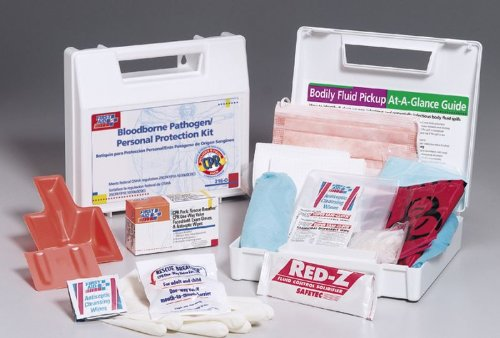 Medline First Aid Bloodborne Pathogen Kit (8x10 Plastic Protective Sleeve compare prices)