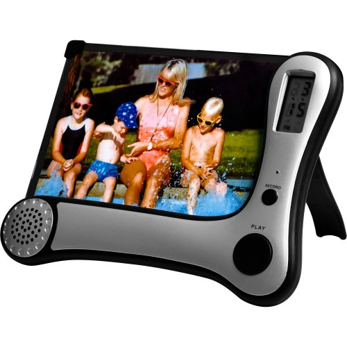 Journey's Edge Photo Frame with Digital Voice Recorder