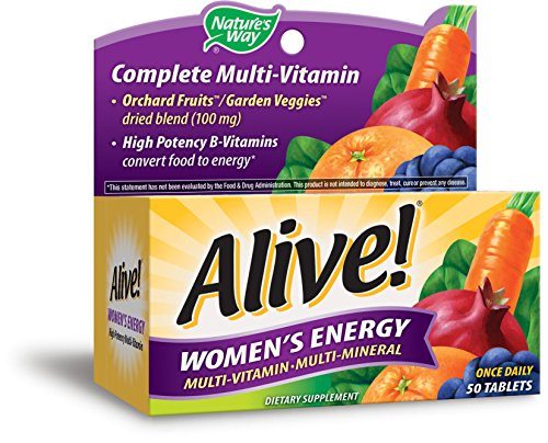 Nature s Way Alive! Women Energy Tablets