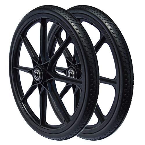 Sherpa 20 x 2.125 Flat Free Wheel (2-Pack)