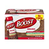 Boost Nutritional Drinks, Original Chocolate, 8 oz,12 Count (Pack of 6)