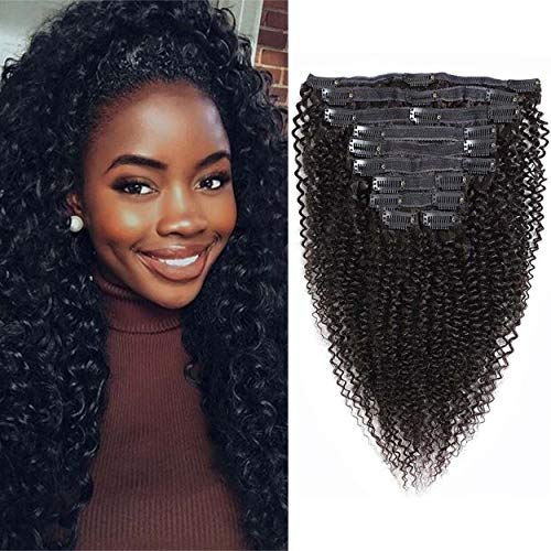 VTAOZI Curly Extensions Brazilian Natural product image