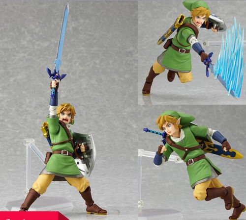 Zalpalza The Legend of Zelda Skyward Sword Link Action Figure