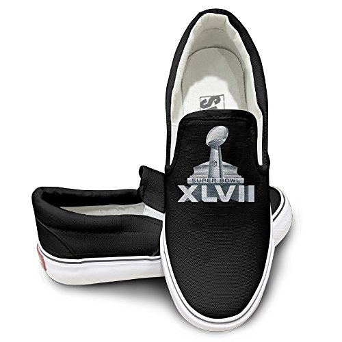 TAYC Super Bowl Personality Canvas Shoes Black (How To Make An Assassins Creed Costume)