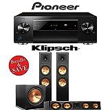 Pioneer Elite SC-LX701 9.2-Ch Network AV Receiver + Klipsch RP-280F + Klipsch RP-450C + Klipsch R-115SW - 3.1-Ch Reference Premiere Package