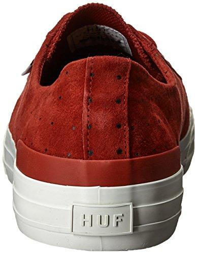 Huf Herren Classic Low Skate Schuh Roter Punkt