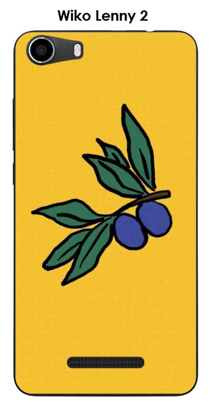 Carcasa Wiko Lenny 2 Design Olive Paca: Amazon.es: Electrónica