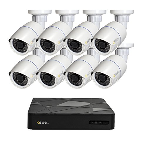 Q See Surveillance QT868 8BC 2 8 Channel Security product image