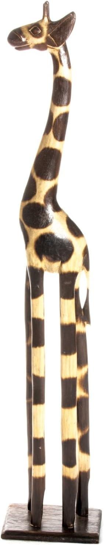 30cm legno Girafe Giraffa AFRICANO Statue Natura Handmade Fair Trade