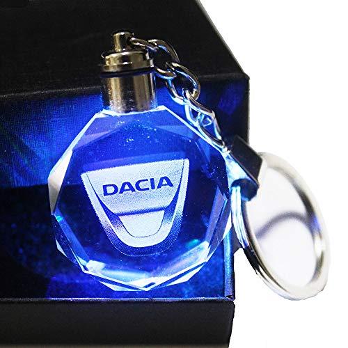 [해외]VILLSION 업그레이드 LED 자동차 열쇠고리 로고 키링 액세서리 자동 키 체인 선물 상자 색상 변경 크리스탈 빛 / VILLSION Upgradetion LED Car Keychain Logo Keyring Accessories Auto Key Chain Gift with Box Color Changing Crystal Light