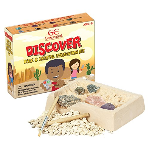 GeoCentral Rock and Crystal Excavation Dig Kit