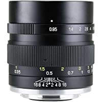 Mitakon Speedmaster 35mm f/0.95 Mark II Lens for Canon EOS-M Mirrorless Cameras - Black