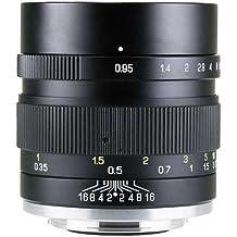 Mitakon Zhongyi Speedmaster 35mm f/0.95 Mark II Lens for Fuji X Mirrorless Cameras - Black