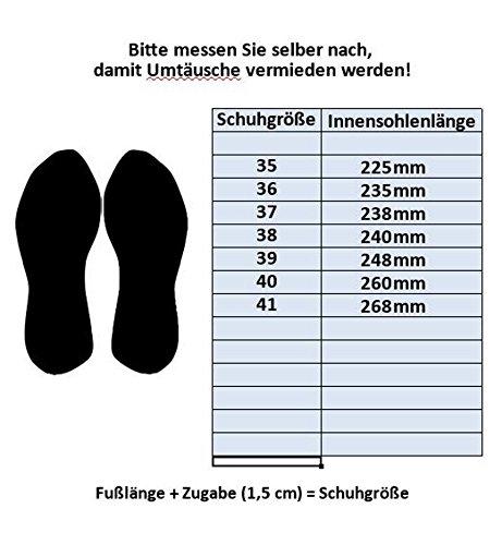 Le Scarpe Schwarz Donna Tacco Glitzer M439pusw4 wwUHzr