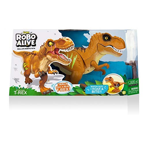 (Robo Alive T-Rex Yellow ~ Real Life Robotic)