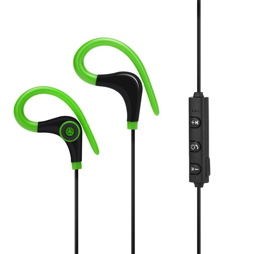 Auriculares Inalambricos Bluetooth Deportivos In Ear para Hacer Deporte Correr Running Compatible con Samsung, iPhone, LG, Sony, Motorola, Blackberry, ...
