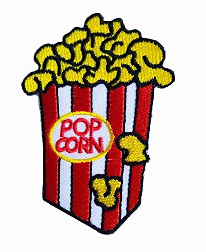 - Style Popcorn Boho Embroidered Applique Iron-on Patch sew on Patches for Jeans Jackets AA18
