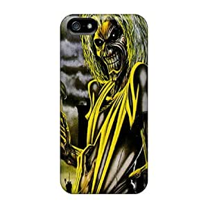 Slim Fit Tpu Protector Shock Absorbent Bumper Iron Maiden Case For Iphone 5/5s
